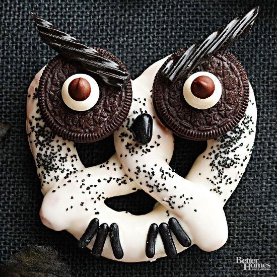 Haunted Owl Pretzel