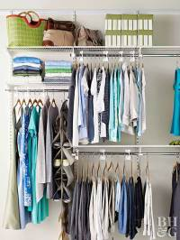 Walk-In Closet Organization
