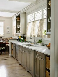 Gray Kitchen Cabinets