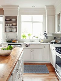 15 Amazing White Modern Farmhouse Kitchens - City Farmhouse