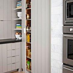 Kitchen Pantry Cabinet Freestanding Under Lights Walk-in Ideas