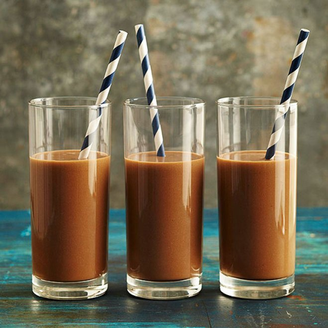 Energizing Mocha-Almond Smoothies