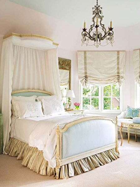 french country home bedroom Country French Bedrooms