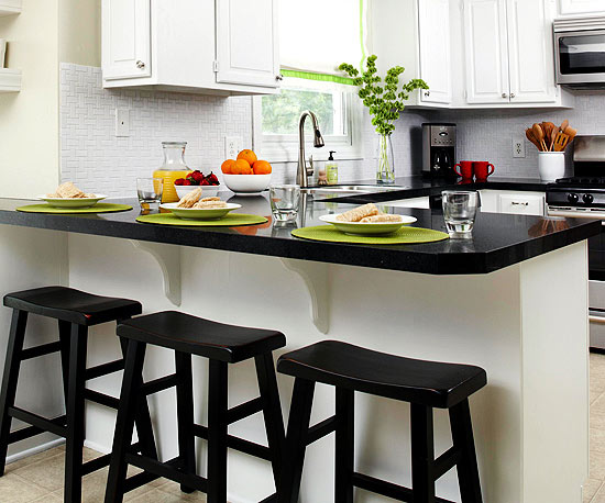 kitchen counter electric black countertops better homes gardens