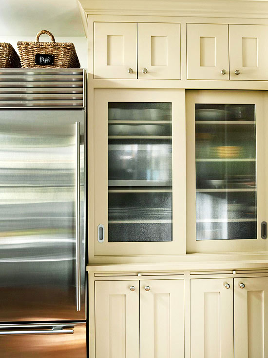 GlassFront Cabinetry