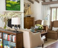 Living Room Color Ideas: Neutral