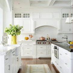 Decorating Ideas Kitchens Kitchen Cabinets Crown Molding White Decor The 36th Avenue Gorgeous Makeovers And Great Tips Of How