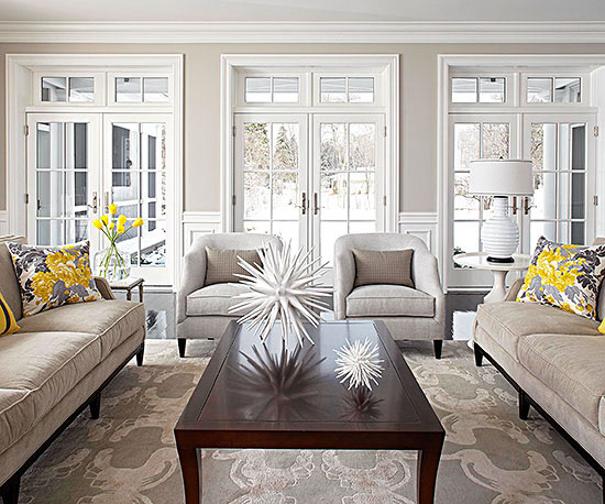 Classic Living Room Decor