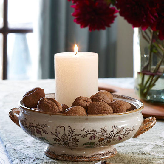 candle in chesnuts