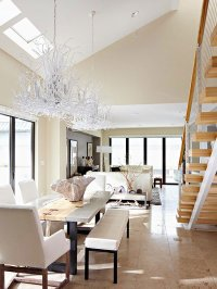 New Home Interior Design: Ideas for Skylights and High Windows