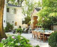New Home Interior Design: Beautiful Backyard Inspiration