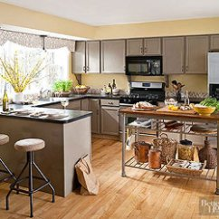 Paint Colors Kitchen Refinishing Cabinets Cost Color Schemes Warm