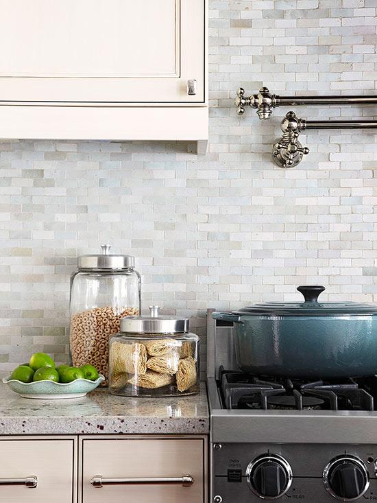 dark blue kitchen cabinets backsplash tile lowes neutral