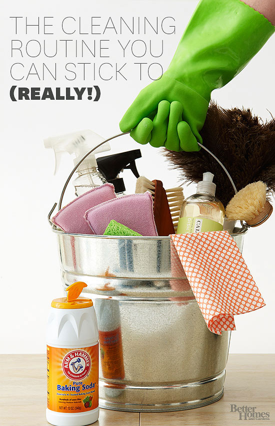 Your Simple Whole-House Cleaning Schedule