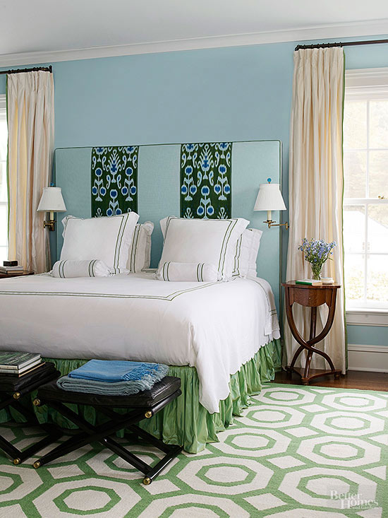 What Color Curtains For Blue Walls