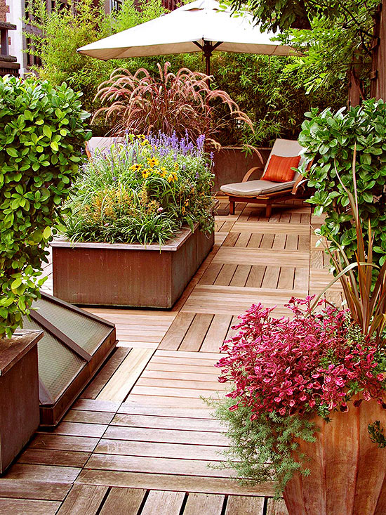 landscape tips decks patios