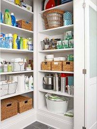 Walk-In Pantry Cabinet Ideas