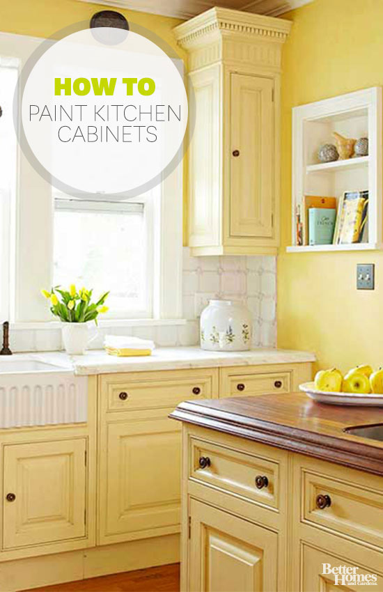 How To Repaint Kitchen Cabinets How To Paint Kitchen Cabinets