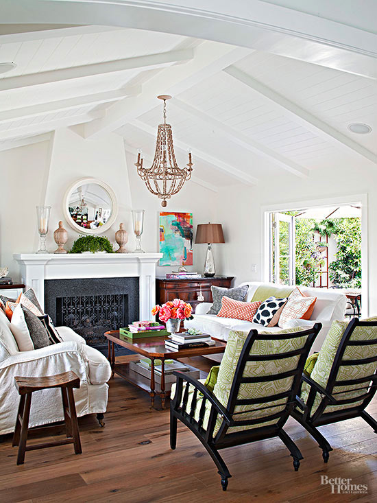 Living Room Colors And Decorating Better Homes And Gardens BHG Com