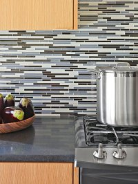 Glass Tile Backsplash Inspiration
