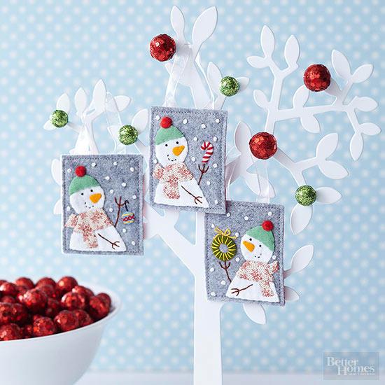 Fun To Make Christmas Snowmen Crafts