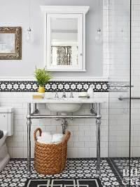Our Best Ideas for a Bathroom Backsplash