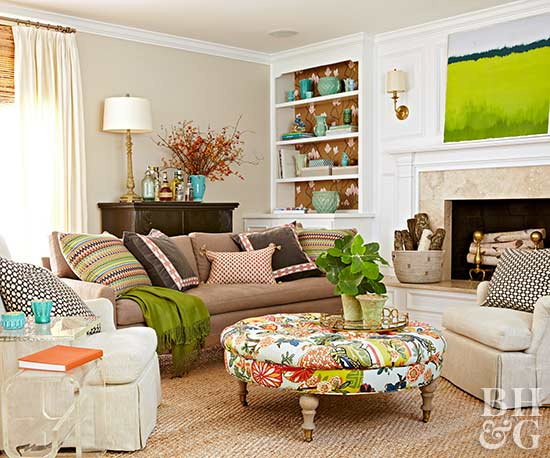 Image Result For How To Place A Rug Under A Sectional Sofa