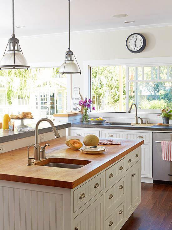 Kitchen Makeover Inspiration - Modern Country Kitchen
