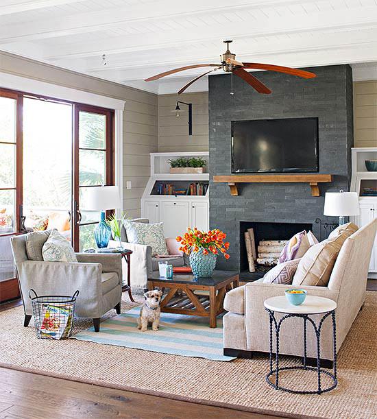 Fireplace Designs and Design Ideas Fireplace Photos  BHGcom