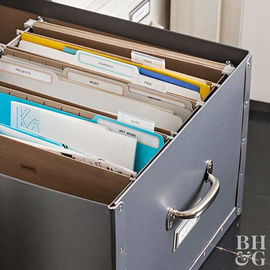 How to Repurpose Filing Cabinets
