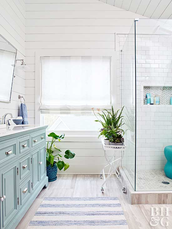 better homes and gardens small living rooms country style ideas for bathroom window treatment