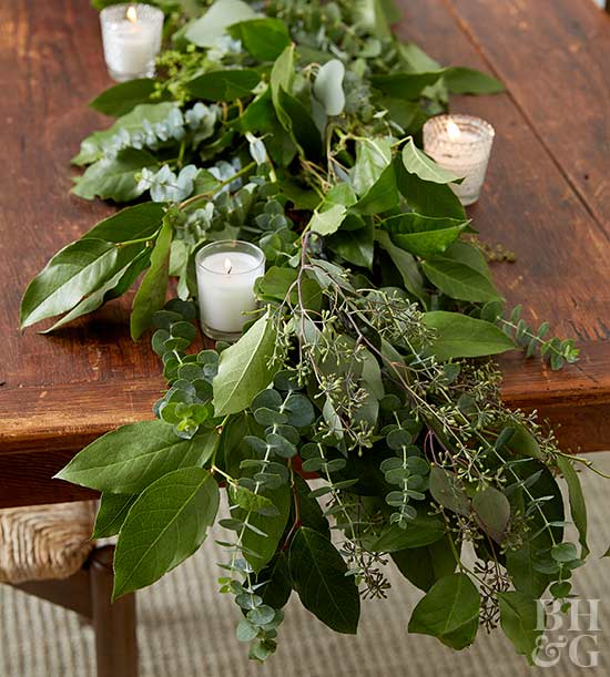 Kitchen Table Centerpieces Contemporary