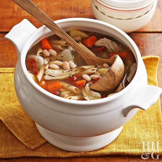 Image result for Turkey Frame Soup