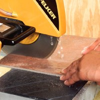 How To Use A Wet Saw To Cut Ceramic Tile