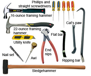 Woodworking Hand Tool List | The Woodworking Plans