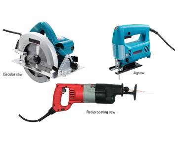 Take a look at the most common power tools used to cut trimwork and ...