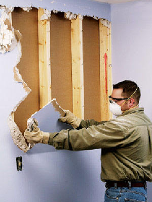 Drywall How to Remove Existing Drywall  Building