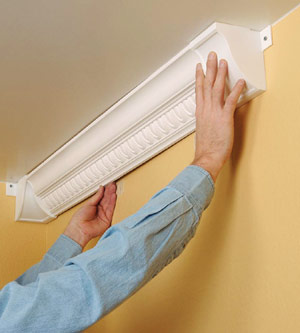 Installing Plastic Crown Molding How To Cut Amp Install