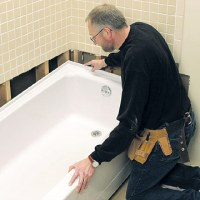 Replacing a Bathtub - How to Repair or Replace a Bath Tub ...