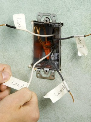 Replacing a Thermostat for an Electric Baseboard Heater  Electrical Repair & Maintenance  Home