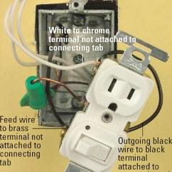 Ground Fault Circuit Interrupter Wiring Diagram 2010 Dodge Journey Radio How Do I Connect A Gfci Outlet To Single Pole Light Switch – Readingrat.net