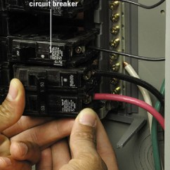120 Volt Wiring Diagram Fender Jazz Deluxe Installing A 240-volt Receptacle - How To Install New Electrical Fixture Home & Residential ...