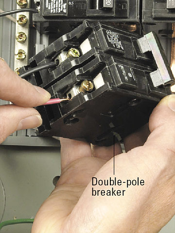 50 Amp Breaker 3 Wire Diagram Installing A Split Receptacle How To Install A New