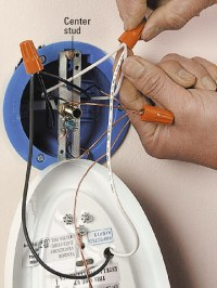 Installing Wall Mounted Lighting - How to Install a New ...