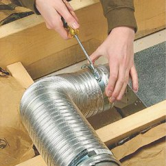 Kitchen Exhaust Vent Wall Cap Lowes Stainless Steel Sinks Installing A Bath Fan - How To Install Or ...