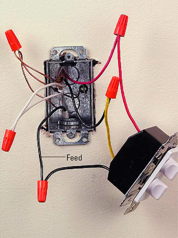 220 Wall Heater Wiring Diagram Installing A Bath Vent Fan How To Install A Fan Or