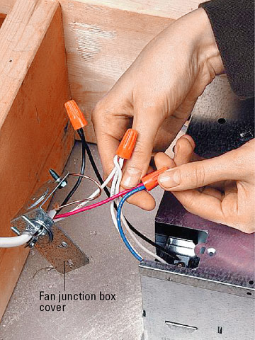 ceiling fan light switch wiring diagram rcd nz installing a bath vent - how to install or heater home & residential wiring. diy advice