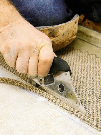 Installing Glued and Seamed Carpet - How to Install ...
