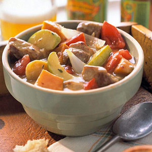 Hearty Pork-Beer Stew