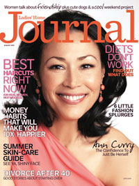 Cover of the August 2012 issue of Ladies' Home Journal